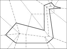 Fold-and-cut problem - Eric Demaine. Cut stars and other things with one cut.