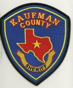 Kaufman county Sheriff TX
