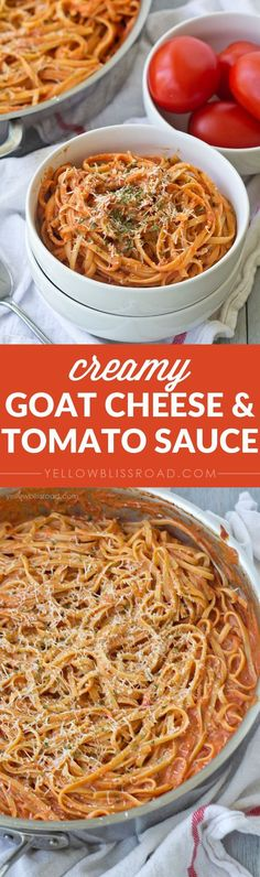 Goat Cheese and Tomato Sauce