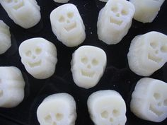 Candle Tarts Skulls Candle Melts Bag of Hand by AMomentinParadise, $6.00 #hmcspooky #boebot