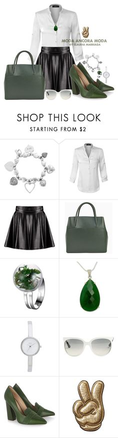"""""""Ven y tocame..."""" by rudyclau on Polyvore featuring moda, ChloBo, LE3NO, Boohoo, NOVICA, DKNY, Ray-Ban, Tory Burch e Anya Hindmarch"""