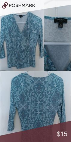 Talbots Sp women's top Beautiful pattern excellent condition Talbots Tops Blouses
