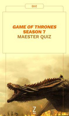 'Game of Thrones' Season 7 Maester Quiz