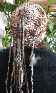 Crochet Hat Dread Lock Tassel Hat