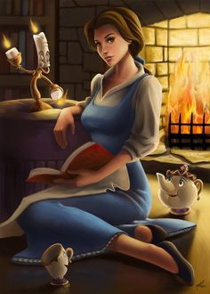 Belle - Beauty and the Beast by Syilas on deviantART