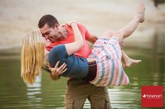 Engagement Photography: fun, outdoor, dip, athletic, playful, water, Pennsylvania Engagement Photographer, Chambersburg Engagement Photographer