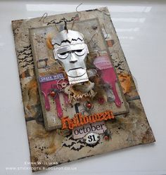 That's Life: The Monster created for Tim Holtz