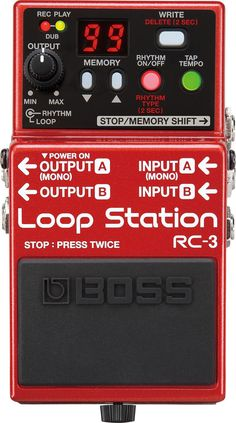 Boss RC-3 Loop Station pédale delay/echo/looper