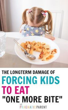 "The Longterm Affects Of Forcing Kids to Eat ""One More Bite"" Practical Parenting, Gentle Parenting, Kids And Parenting, Happy Mom, Happy Kids, Parenting Articles, Parenting Hacks, Positive Parenting Solutions, Charts For Kids"