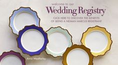Neiman Marcus Registry Wedding Registries, Welcome To Our Wedding, Bridal Gifts, Neiman Marcus, Luxury, Ideas, Thoughts, Wedding Gifts