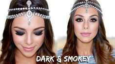 Dark & Smokey Arabic Inspired Look | Annie Jaffrey