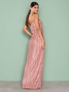Pretty Pleats Gown