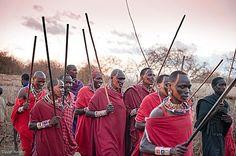 Maasai at Porini Amboseli Camp in Kenya