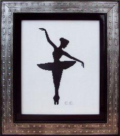 MU156, Lanarte, Silueta de Bailarina 1