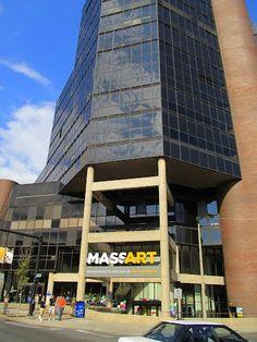 MassArt Tower Building.  Boston