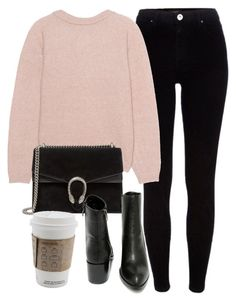 """Untitled #5957"" by laurenmboot ❤ liked on Polyvore featuring River Island, Acne Studios, Gucci and Very Volatile"