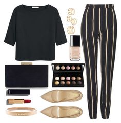 """""""Untitled #1453"""" by anarita11 ❤ liked on Polyvore featuring Topshop, Yves Saint Laurent, MANGO, Monsoon, Chanel, women's clothing, women's fashion, women, female and woman"""