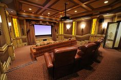 I would have to have a media room in my dream home!