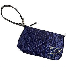 St. Louis Blues Quilted Wristlet