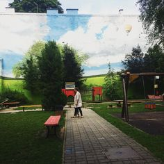 Central Europe, Hungary, Budapest, Playground, Sidewalk, Real Estate, Club, Create, Children Playground