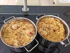 Plov - russische Reispfanne mit Hähnchen, ein schönes Rezept aus der Kategorie Kochen. Bewertungen: 15. Durchschnitt: Ø 4,1.