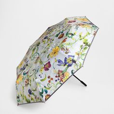 Zara Home FLORAL PRINT FOLDING UMBRELLA (30 CAD) ❤ liked on Polyvore featuring accessories, umbrellas, indefinite, folding umbrella, zara home and floral umbrella