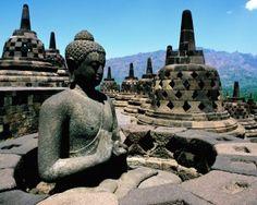 Borobudur Temple, Yogyakarta area  (Indonesia has the friendliest people and amazing vistas)