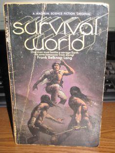 Survival World Frank Belknap Long Science Fictions Vintage 1971 Magnum 74 - 750