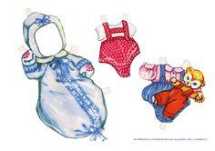 Lindas bonecas e bebês de papel da artista Eva Lisa Aghaton.        - - -   Compartilhar       Tweet