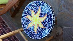 My own DIY mosaic table. Tedious to make but fun.