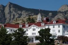 The Stanley Hotel in Estes Park Colorado. As a kid I always pretended this was our Mansion house and as an adult I still am taken by the beauty of the town and the grace of the hotel....Lovely