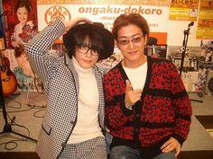 YOU & michi #SQF #michi #Maschera #You_Kurosaki #gacktJOB #jrock #jpop