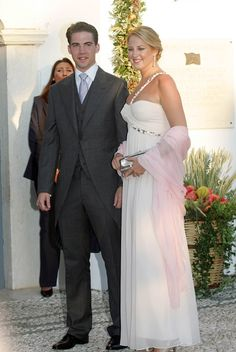 Princess Theodora and Prince Philippos of Greece.  The two younger children of exiled King Constantine II and Queen Anne-Marie of Greece and Denmark.