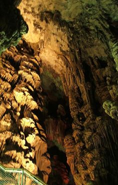 michael's cave, within the rock, gibraltar, once believed to be the entrance to Hades. Greek Plays, Rock Of Gibraltar, British Overseas Territories, Andorra, Spain And Portugal, St Michael, Hades, Greece Travel, Nature Pictures