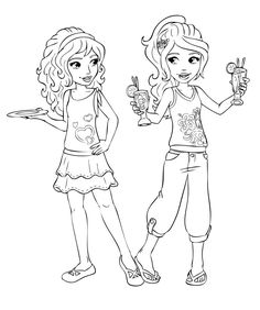 Coloring Pages Lego Friends 12 Jpg