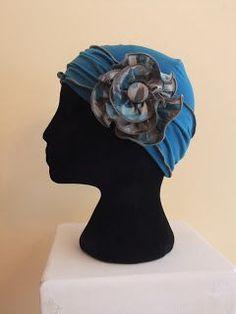 No-tie chemo scarf, free pattern and tutorial, Snip-Rip-Hooray, chemo hat, chemo headwear, chemo cap, chemo hatSnip-Rip-Hooray