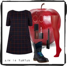 a/w 14 plus size tartan