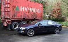 Old Hyundai truck.