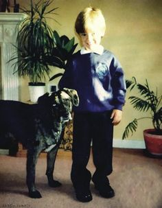 Harry's first day of school