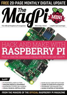 Back Issues & books - The MagPi MagazineThe MagPi Magazine Pembroke College, Raspberry Pi Projects, Computer Hardware, Card Sizes, Sd Card, Linux, Hacks, Magazine, Cambridge