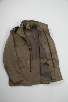 Olive Field Jacket / Ten C
