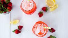 Honey Strawberry Lemonade