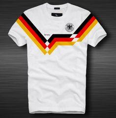Tailandia Equipacion Camiseta mundial 2018 Alemania Primera retro