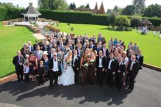 Picture of the wedding party