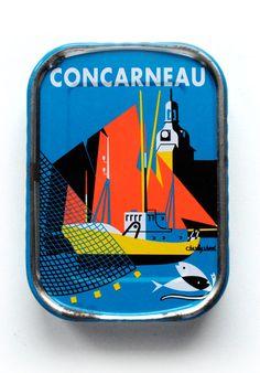 Concarneau Sardines Canned Fish