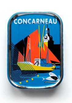 #packaging - could almost make me eat sardines... almost. but not quite.  Free Flavour » Concarneau