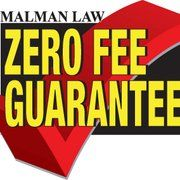 """Photo of Malman Law - Chicago, IL, United States. ZERO FEE means """"If we do not collect for you, our services are free"""""""