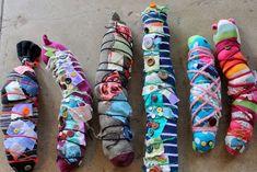 sock caterpillars