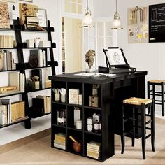 Classy of Tall Office Desk Love The Tall Desk And Storage Cubbies Leaning Shelves Are