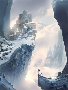 Otherworld Realms | fantasy-art-engine:   Hidden Castle by Will...